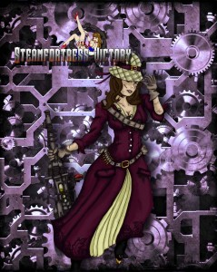 Cogs and clockwork steampunk machinery